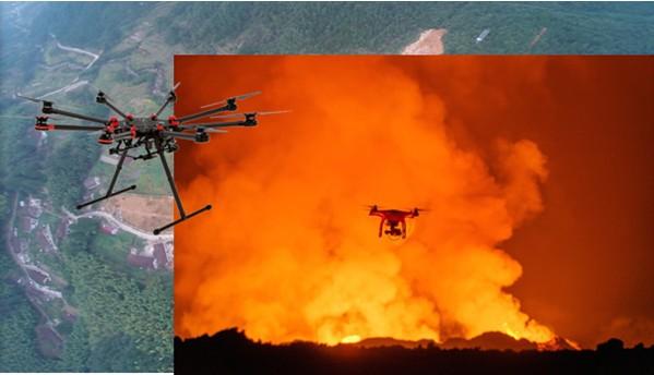 应急调度系统无人机图