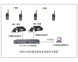 无线对讲机通话录音解决方案