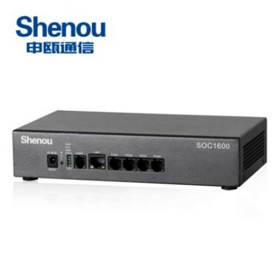 申瓯4路桌面式SOC1604电话录音设备