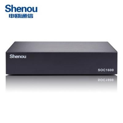 申瓯4路桌面式SOC1604电话录音设备64G